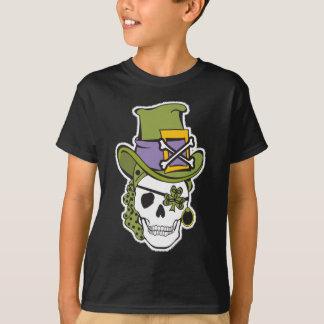 St Patrick Day Skull Tee Dark T Shirt