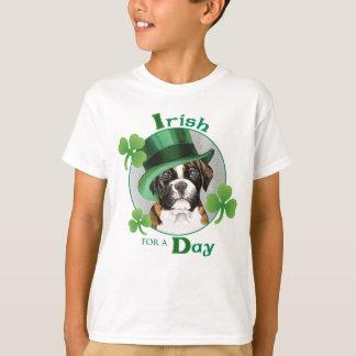 St. Patrick de Bokser van de Dag T Shirt