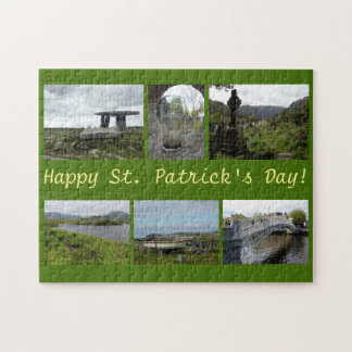 St. Patrick de Collage van de Dag Legpuzzel