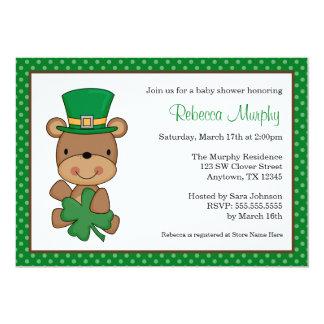 St. Patrick de Dag draagt het Baby shower van de Kaart