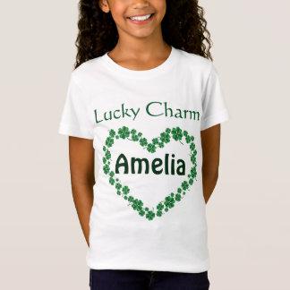 St. Patrick de Dag Gepersonaliseerde Gelukkige T Shirt