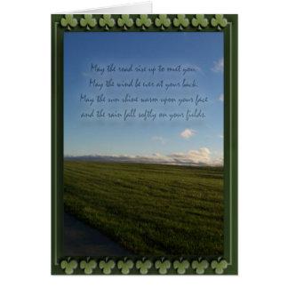 St. Patrick de Ierse Zegen van de Dag Briefkaarten 0