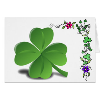 St. Patrick de Kaart van de Klaver van de Klaver