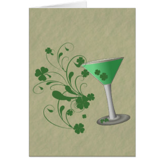 St Patrick de Kaart van Martini van de Dag