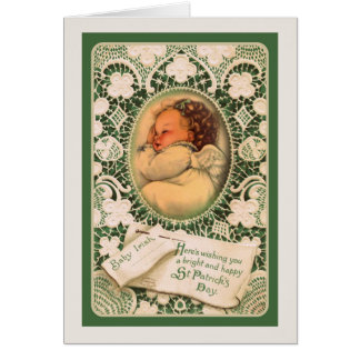 St. Patrick de Kaart w/angel van de Dag & vers