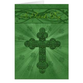St. Patrick de Kaarten van de Dag met Kruis en