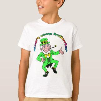 St. Patrick de Kabouter van de Dag houdt niet op T Shirt