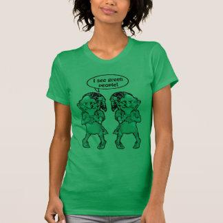 St Patrick de Kabouters zien de Groene Dames van T Shirt
