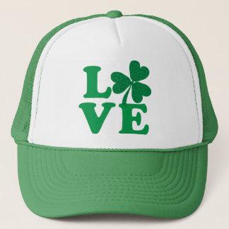 St. Patrick de klaverliefde van de Dag Trucker Pet
