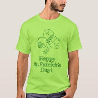 St Patrick de Meetkunde van de Dag T Shirt