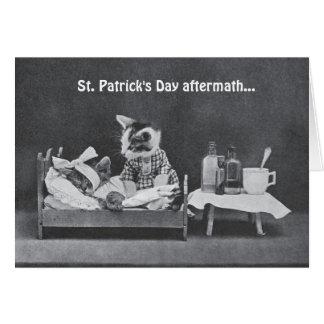 St. Patrick de Nasleep van de Dag Kaart