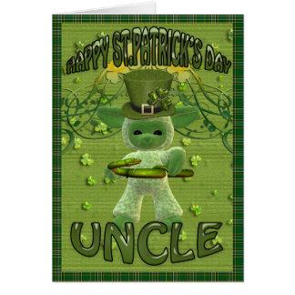 St Patrick de Oom van de Dag Wenskaart