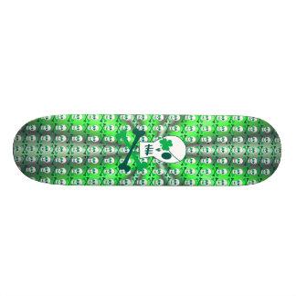 St. Patrick de Piraat van de Dag 19,7 Cm Skateboard Deck