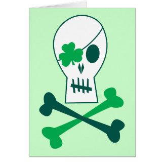 St. Patrick de Piraat van de Dag Kaart