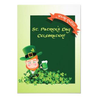 St. Patrick de uitnodiging van de Dag