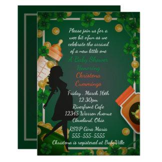 St. Patrick de Uitnodiging van het Baby shower van