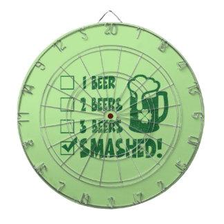 St Patrick Drink van het Bier van de Dag het Dartbord