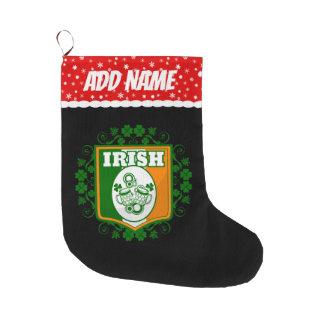 St Patrick het Bier van de Dag Grote Kerstsok
