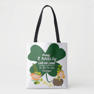 St. Patrick het Bolsa van Shenanigans van de Dag Draagtas