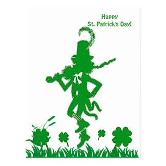 St. Patrick het Briefkaart van de Kabouter van de