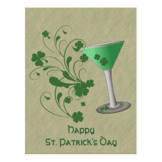 St Patrick het Briefkaart van Martini van de Dag