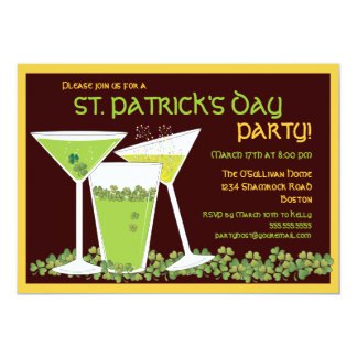 St. Patrick het de Groene Cocktails & Bier van de Kaart
