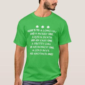 St. Patrick het Overhemd van de Toost van de Dag T Shirt