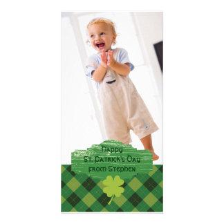 St. Patrick het Wenskaart van de Foto van de Dag Kaart