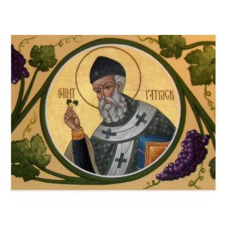 St. Patrick Icon Prayer Card Briefkaart