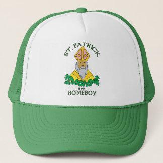 St. Patrick Is My Homeboy Trucker Pet