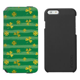 St Patrick van Golden patroon klaver het groene