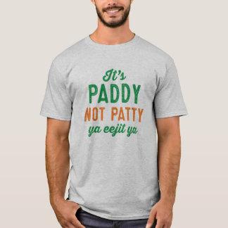 St. Patrick van het Pasteitje van de padie niet T Shirt