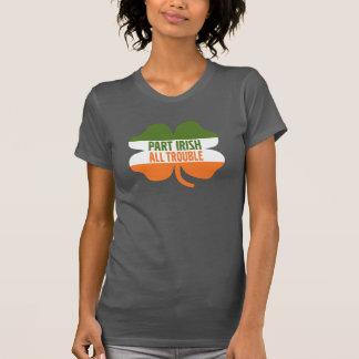 St Patricks de klaver van de Dag - Deel het Iers T Shirt