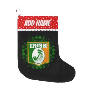 St Patricks de Pijp van de Dag Grote Kerstsok
