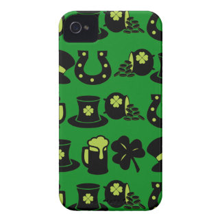 St Patricks de Pot van de Klaver van de Dag van iPhone 4 Hoesje