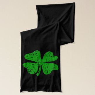 St Patricks de sjaal van de Dag met groene klavers Sjaal