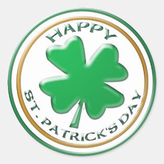 St Patricks de sticker van de Dag