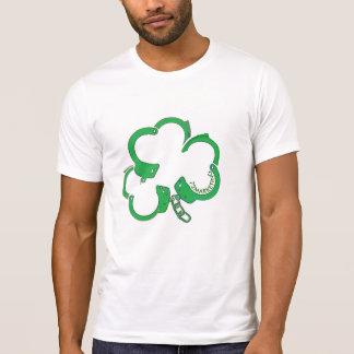 St. Patricks Handcuffs van de Wet van de Dag T Shirt