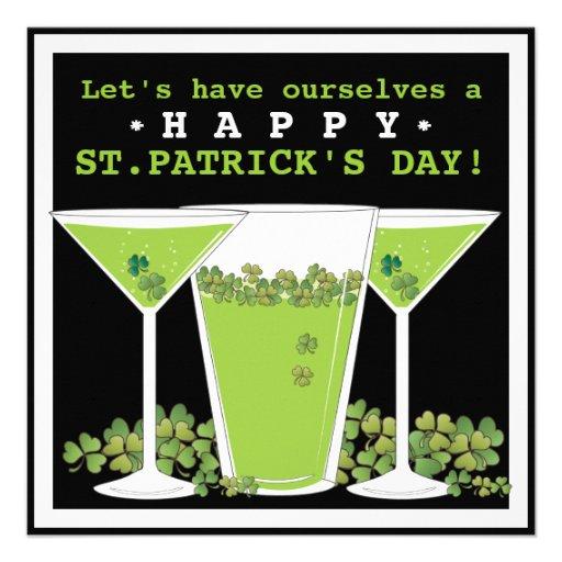 St. Patricks het Bier van de Dag en de Uitnodiging