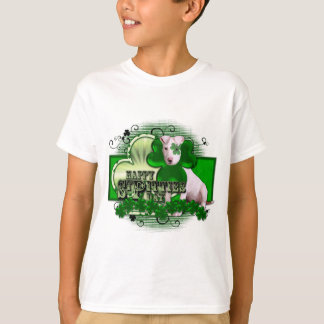 St Patricks - St Pitties Dag - Pitbull - Petey T Shirt