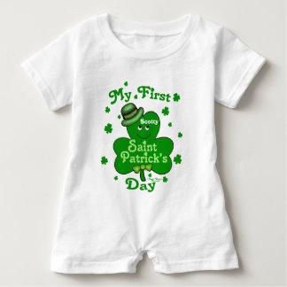 St. Patricks van de Jongen van het Baby van de Romper