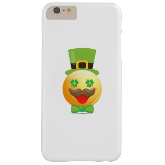 St Patricks van de Snor van Emoji de Grappige Barely There iPhone 6 Plus Hoesje
