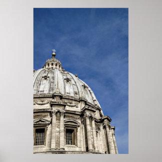 St. Peter Basiliek (Basilica Di San Pietro) Poster