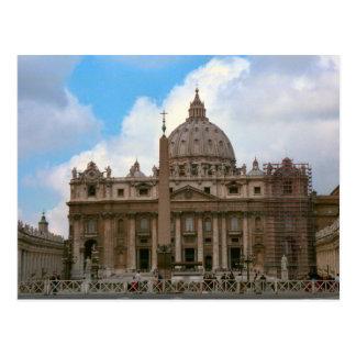 St Peter Basiliek, Vatikaan Briefkaart