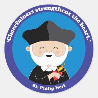 St. Philip Neri Ronde Sticker