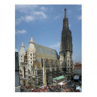 St. Stephen Kathedraal, Wenen Oostenrijk Briefkaart
