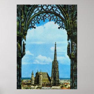St Stephen Kathedraal Wenen Poster