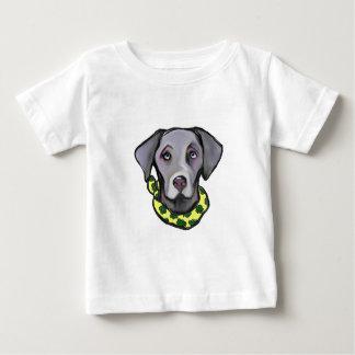 ST van Weimarana Pasteitje Baby T Shirts