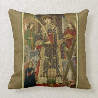 St. Vincent Saragossa diaken-Martelaar Hoofdkussen Kussen