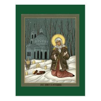 St. Xenia Prayer Card Briefkaart